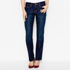 Levi's*505 Straight*Faux Flap Pockets Jeans*Sz 4*